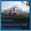 Alukov  production hall Bátonyterenye